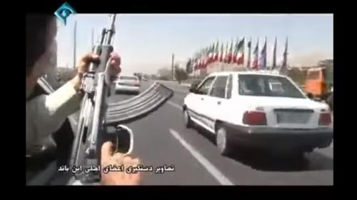 Publican en YouTube sorprendente persecución policial