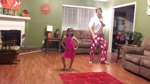 Padre e hija conquistan las redes bailando hit de Justin Timberlake
