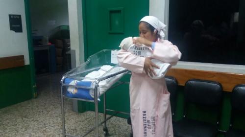 IGSS confirma buena salud de bebé que fue robado en Mazatenango