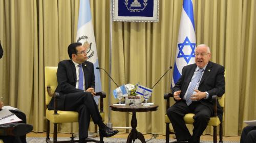 Guatemala cambió su política exterior a favor de Israel en mayo