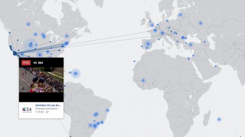 Así puedes ver todas las transmisiones de Facebook Live en el mundo