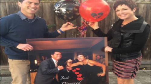 Pareja se divorcia y organiza una espectacular fiesta para celebrarlo