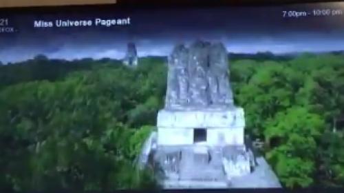 Miss Universo: ¿imágenes de Tikal en video de Miss México?