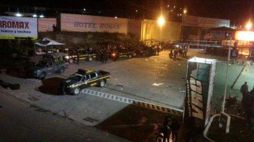 Heridos, destrozos y trifulcas en la Caravana del Zorro en Esquipulas