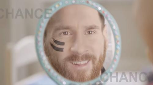 Messi promueve emotiva campaña con niños que luchan contra el cáncer