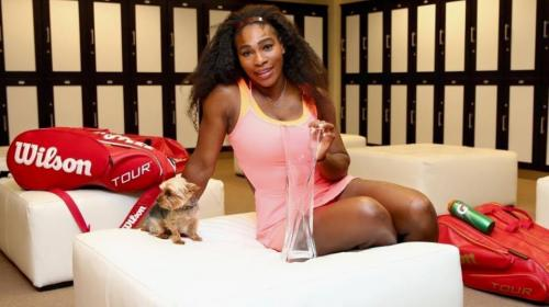 Serena Williams enfrenta a un ladrón que le roba el celular