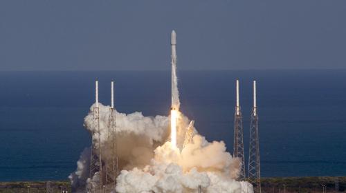 """SpaceX, el cohete que lleva una """"superbacteria"""" al espacio"""