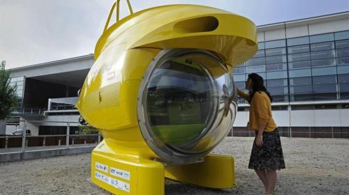 Presentan Submarino para investigación y emergencias