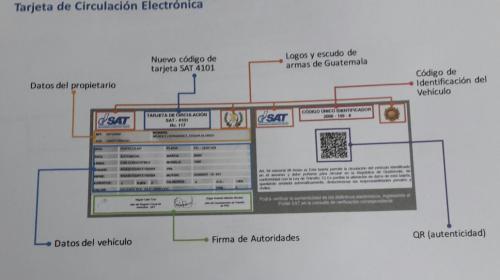 La SAT presenta nueva tarjeta electrónica de circulación