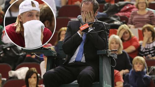Descalifican a Canadá de la Copa Davis por pelotazo al juez de silla
