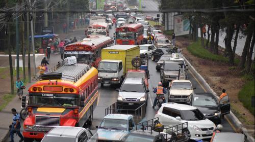 #TráficoGT: conoce las rutas alternas que te ayudarán en Mixco