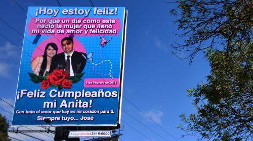 Un costoso regalo de cumpleaños sorprende en la Aguilar Batres