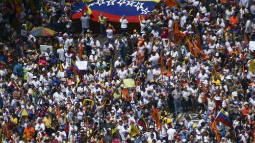 Alertan sobre posible enfrentamiento por protestas en Venezuela