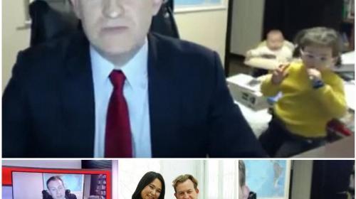 La verdad detrás del video viral del analista tiernamente interrumpido