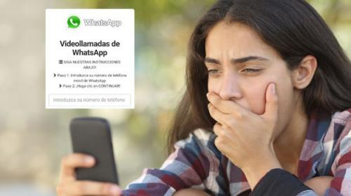 ¡Cuidado! La Notificación de Videollamadas por Whatsapp es falsa
