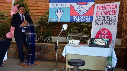Donación facilitará diagnóstico y tratamiento a pacientes con cáncer