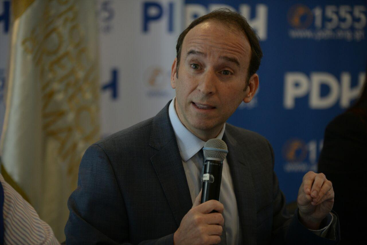 Jorge de León Duque anuncia que no buscará la reelección de la PDH