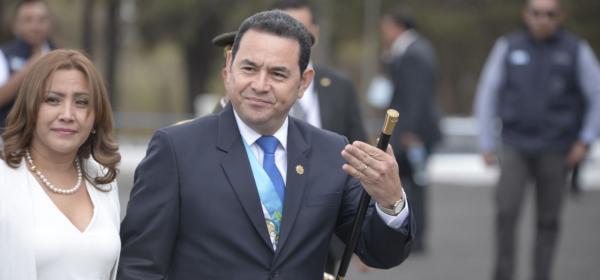 El enojo de Jimmy Morales: pide a la PGN investigar a fiscales