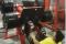 Lesión máquina de ejercicios foto