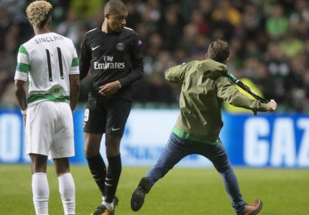 Intento de agresión a Mbappé foto