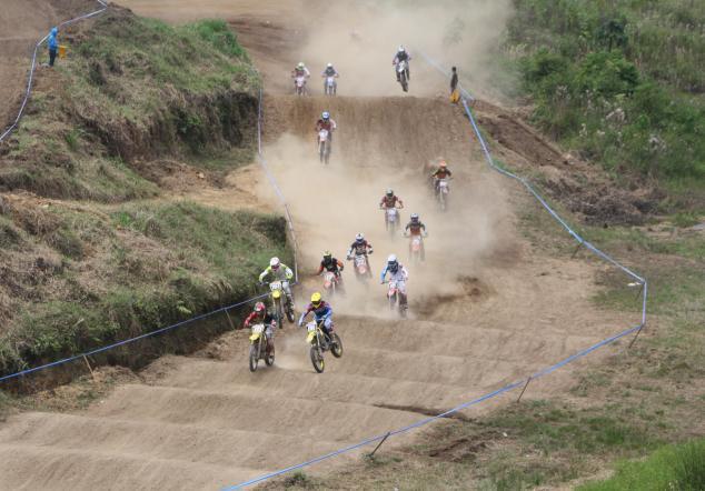 Motocross quinta fecha en Cobán