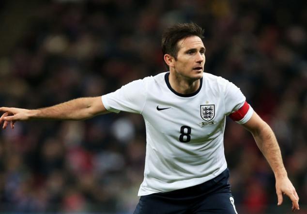 Lampard jugará ante Costa Rica su último encuentro mundialista
