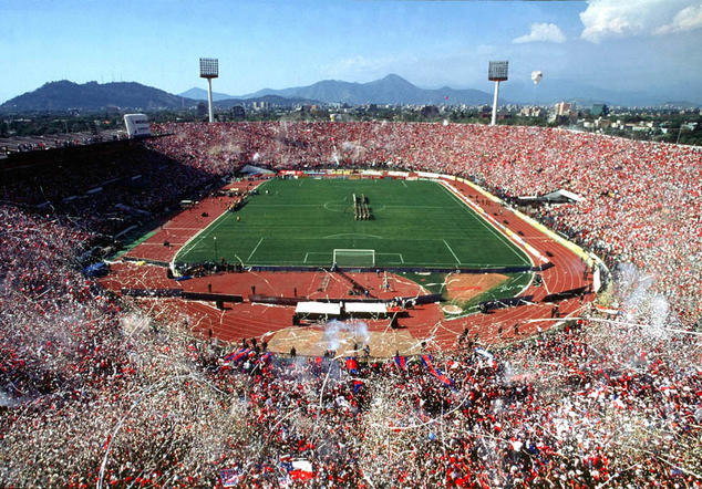 El Estadio Nacional de Chile