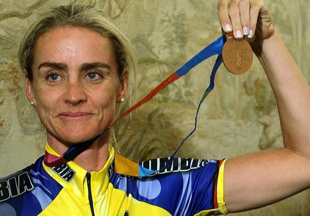 La ciclista colombiana María Luisa Calle tuvo uno de los resultados adversos en las pruebas de doping de los Panamericanos