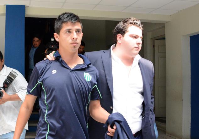 Alejandro Díaz dopaje Antigua GFC foto
