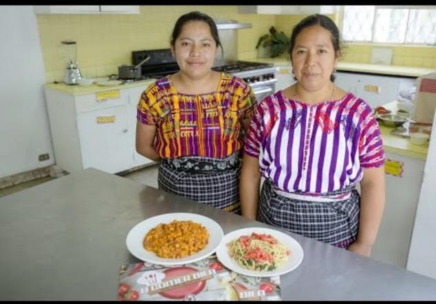 Un recetario que combate la desnutrición crónica