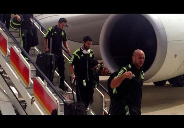 Rayo impacta en un ala del avión de España antes de aterrizar en Barajas