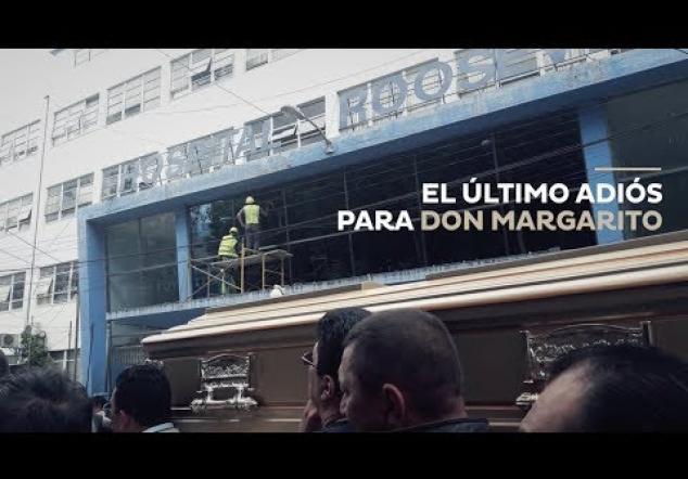El último adiós para Don Margarito