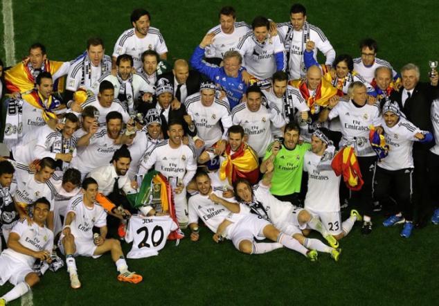 Copa del rey real madrid foto