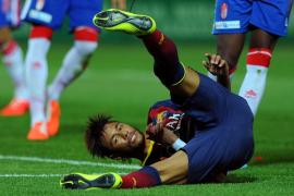 Neymar, Barcelona, lesión, Liga Española