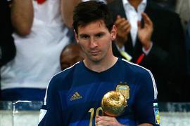 Lionel Messi balón de oro Mundial 2014