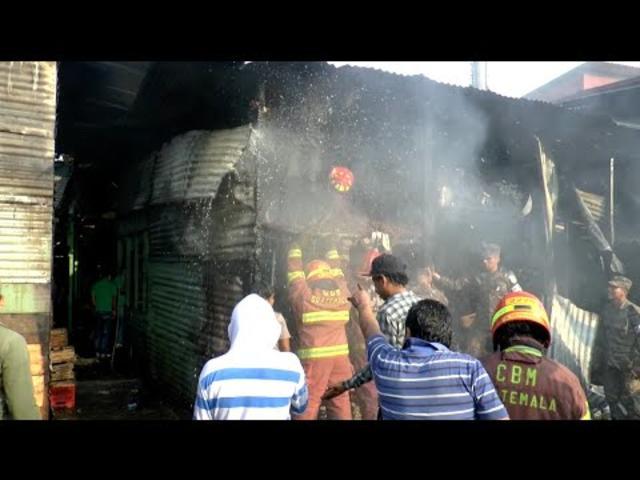 Incendio en La Terminal deja dos víctimas mortales