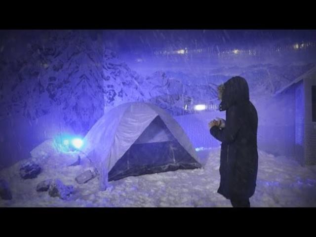 Busch Beer Mountain: ¡La nieve llegó a Guatemala!