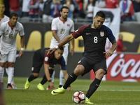 Clint Dempsey anotó el 1-0 a favor de EE.UU. ante Costa Rica