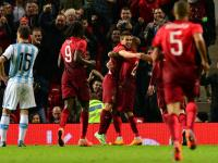 Rafa Guerreiro anotó el único gol del encuentro en el que Portugal derrotó a Argentina