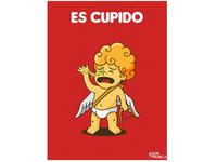 """""""Es-cupido"""" llegó a las redes sociales."""