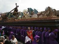 """La procesión salió al compás de los acordes de la marcha oficial de """"Jesús de San Bartolo"""""""