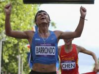 Erick Barrondo gana medala de plata olímpica en Londres 2012 foto