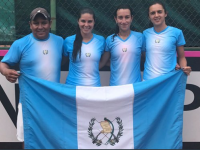 equipo guatemalteco fedcup foto