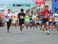 Niños y niñas de todas las edades corrieron Cobancito