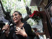 Florinda Meza 1er aniversario de muret de chespirito foto