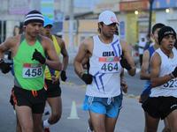 Barrondo ganó la prueba de 20 kilómetros en la Copa Nacional de Marcha que se celebró en Quetzaltenango