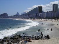 Copacabana luce tranquila