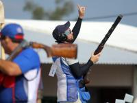 Jean Pierre Brol ganó oro para Guatemala en la prueba de foso y dedicó el triunfo a su padre que falleció recientemente