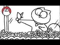 Butterflies - Simon's Cat (A Valentine's Special!)