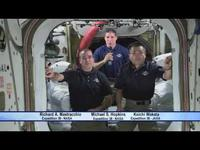 NASA and JAXA ISS Astronauts Congratulate 'Gravity' on Academy Awards